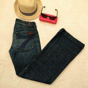 NWOT MINT 7 Mankind Dojo Lexie Jeans